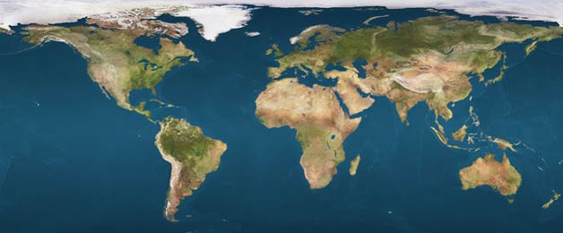 Clickable Earth Map