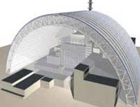 Planned New Safe Confinement Source: Chernobyl Forum