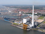 The Esbjerg Power Station, a CO2 capture site in Denmark