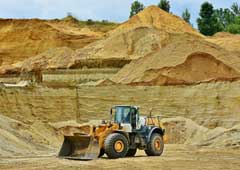 Mineral extraction risks home